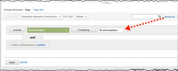 Advanced Filter on Google Analytics