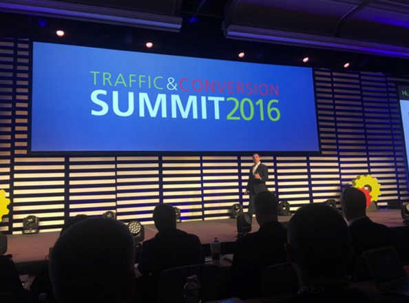 Ryan Deiss at Traffic and Conversion Summit 2016