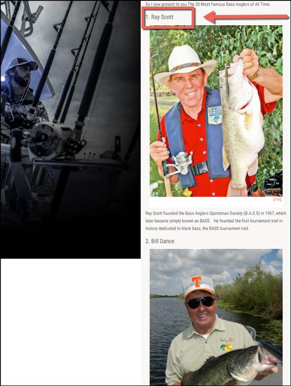 Top Fishermen