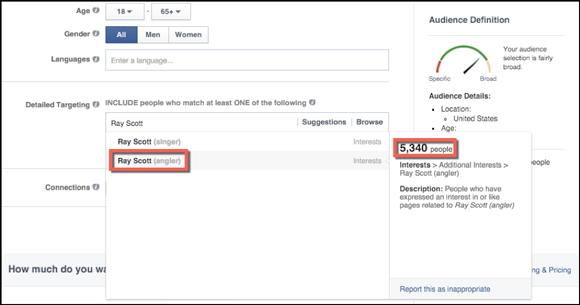 Gerente de anúncios do Facebook