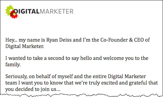Welcome Email Template | Download The Perfect Welcome Email