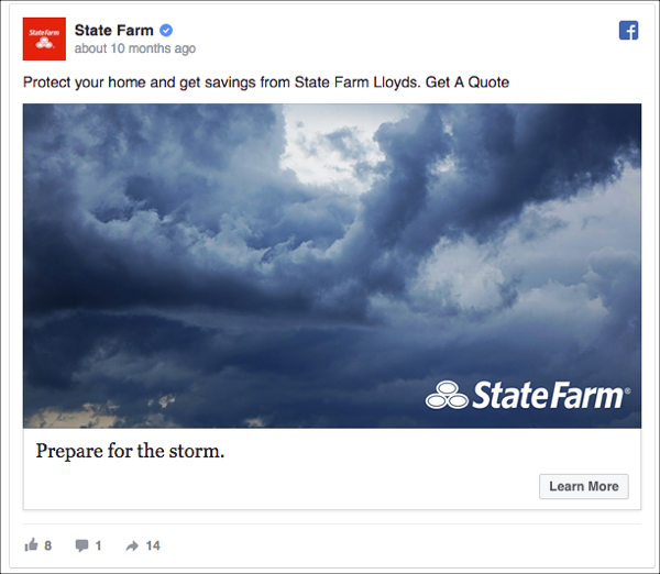 Statement of Value - State Farm