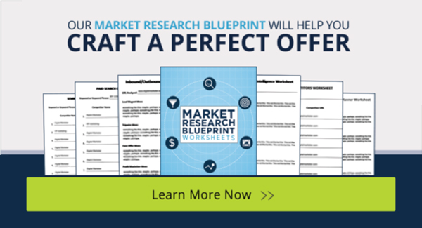 Get the Market Research Blueprint so you can craft the perfect offer for your audience