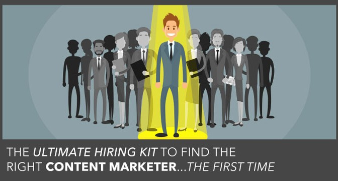 hire a content marketer