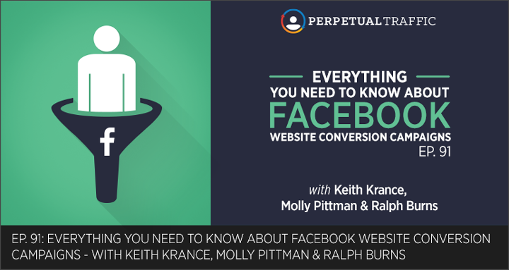 Episode 91: Everything You Need to Know About Facebook Website Conversion Campaigns