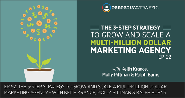 Episode 92: The 3-Step Strategy to Grow and Scale a Multi-Million Dollar Marketing Agency
