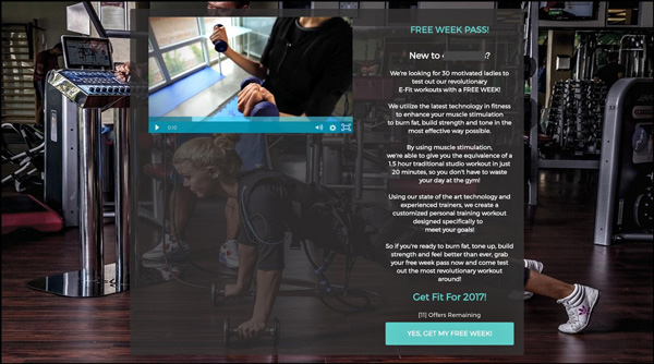 Fit FLAVER Landing Page