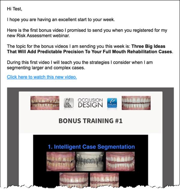 Phelan Dental Email Campaign #1