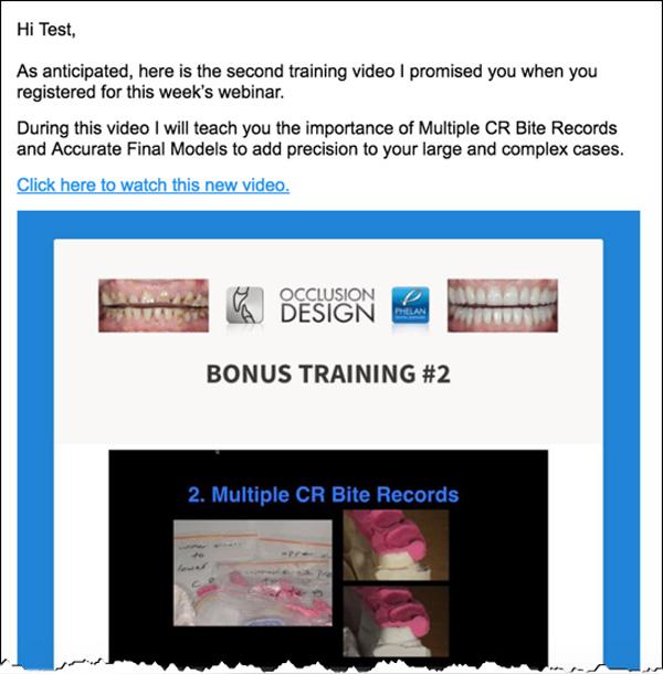 Phelan Dental Email Campaign #2