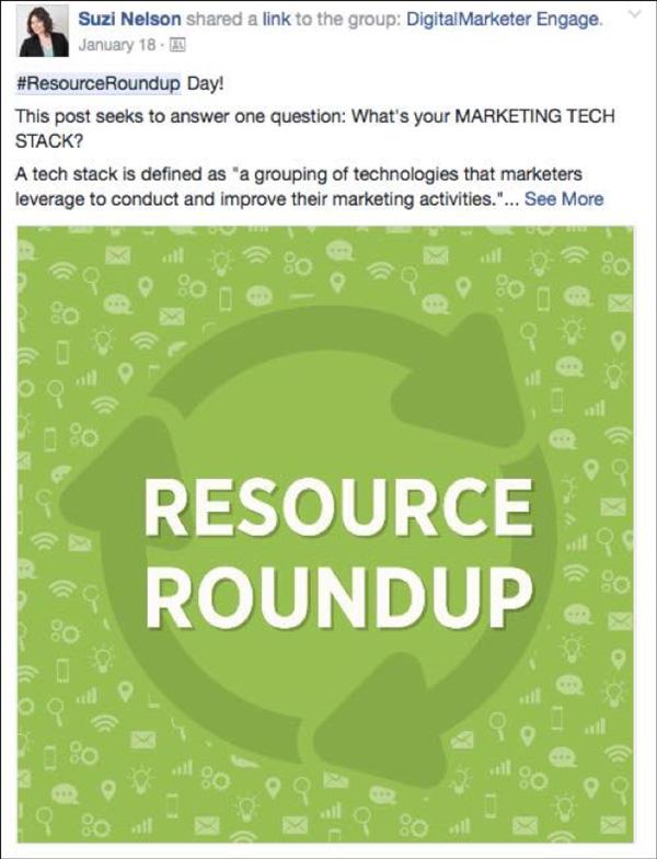 DigitalMarketer Engage Resource Roundup
