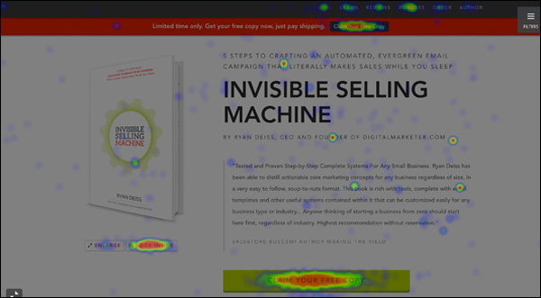 Invisible Selling Machine Heatmap