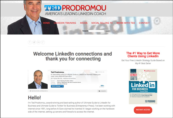 Ted Prodromou Website