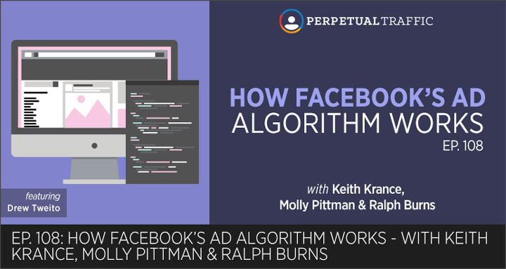 how facebooks ad algorithm works