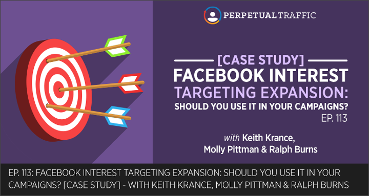 facebook interest targeting expansion case study
