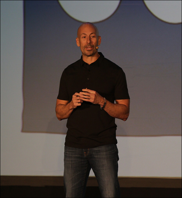 Joe Polish during his Content & Commerce Summit 2017 presentation