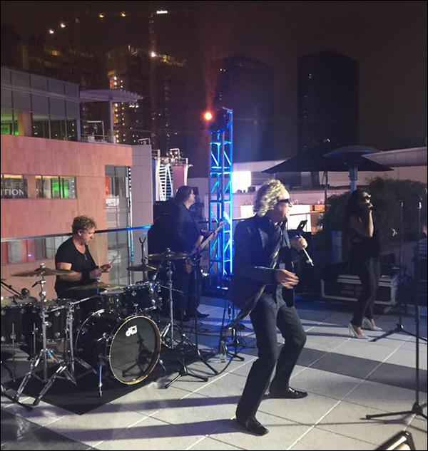 Live band at the Maropost Reception at Content & Commerce Summit 2017