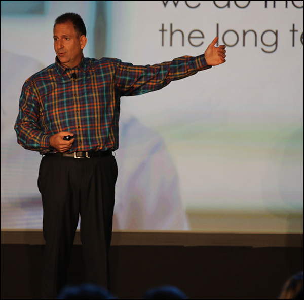 Bryan Eisenberg during his keynote at Content & Commerce Summit 2017