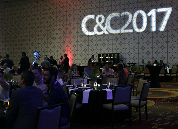 Content & Commerce Summit 2017 VIP party sit down dinner