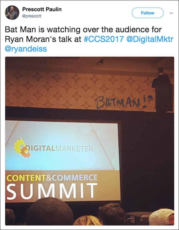 Audio speaker that has an uncanny resemblance to Batman