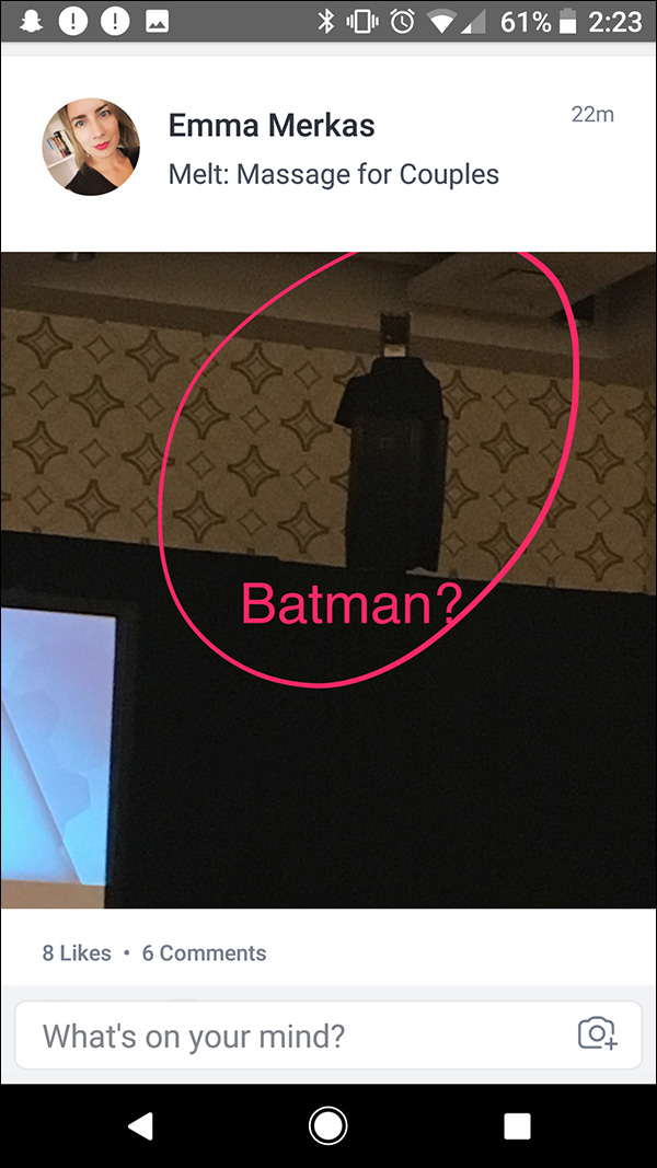 Audio speaker that has an uncanny resemblance to Batman