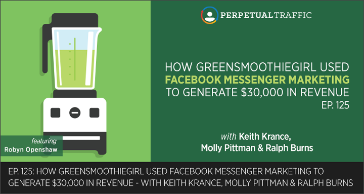 Facebook Messenger Marketing greensmoothiegirl