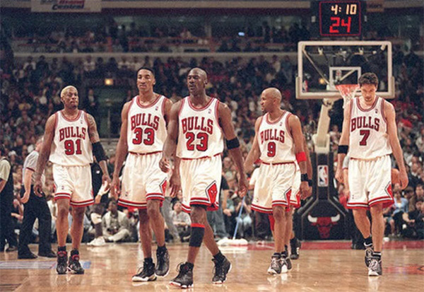 '96 Chicago Bulls