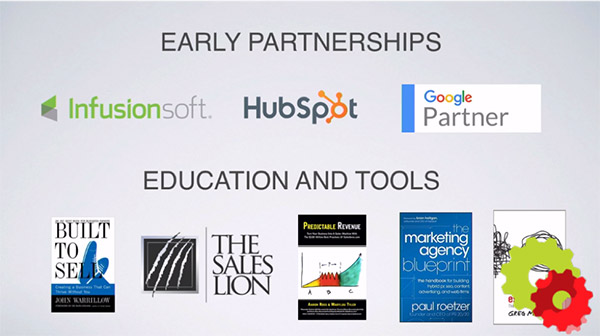 The early partnerships of Clymb: Infusionsoft, HubSpot, Google Partner