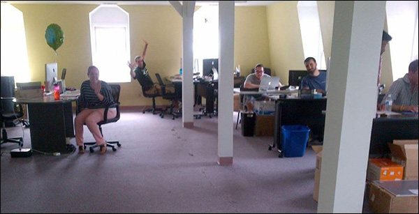 The IMPACT office, circa 2012