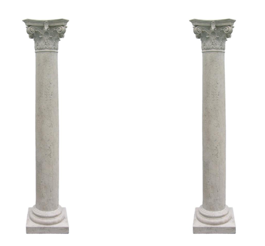 Two pillars