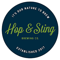 Hop and Sting Logo