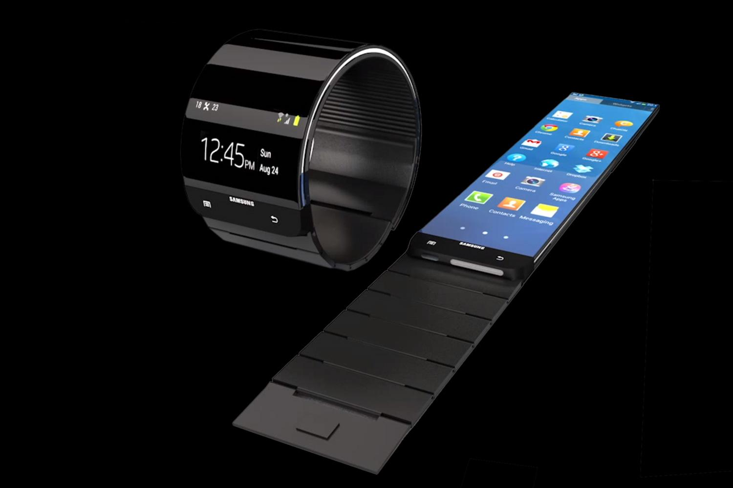 galaxy gear smartwatch rumor roundup digital trends. Black Bedroom Furniture Sets. Home Design Ideas
