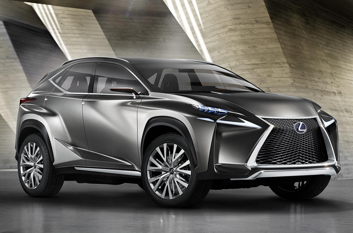 Speed Test Frontier >> Lexus LF-NX concept could be a compact Mercedes GLA fighter | Digital Trends