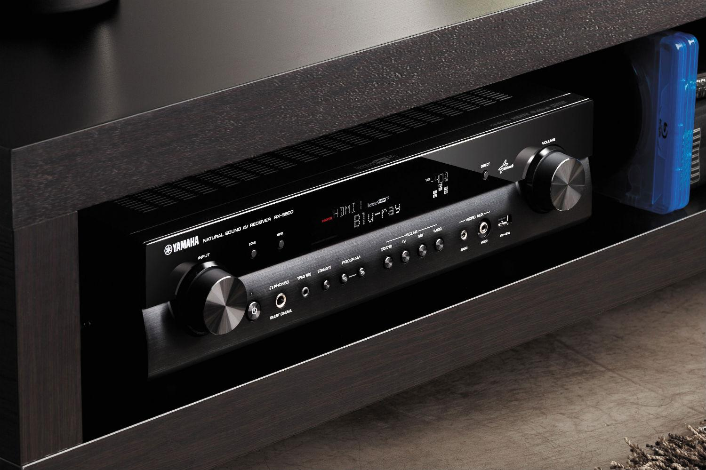 yamaha announces super slim rx s600 av receiver digital. Black Bedroom Furniture Sets. Home Design Ideas