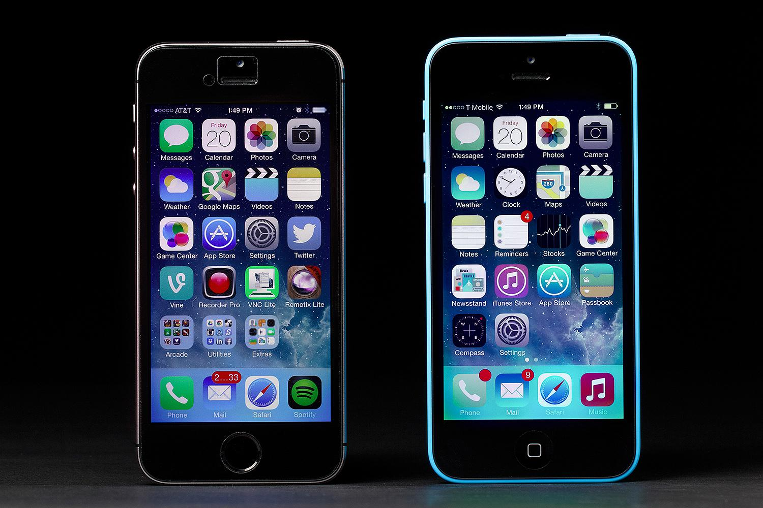 iphone 5c vs 5s iphone 5s vs iphone 5c comparison review what s the 1256