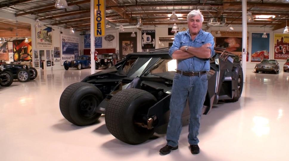 Jay Leno Car: Jay Leno Drives The Batmobile
