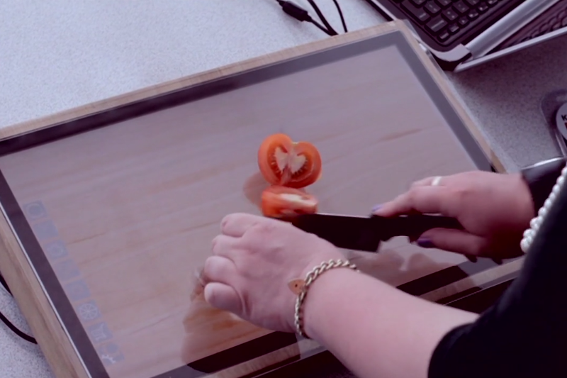 Chop Syc The Touchscreen Cutting Board From Sharp