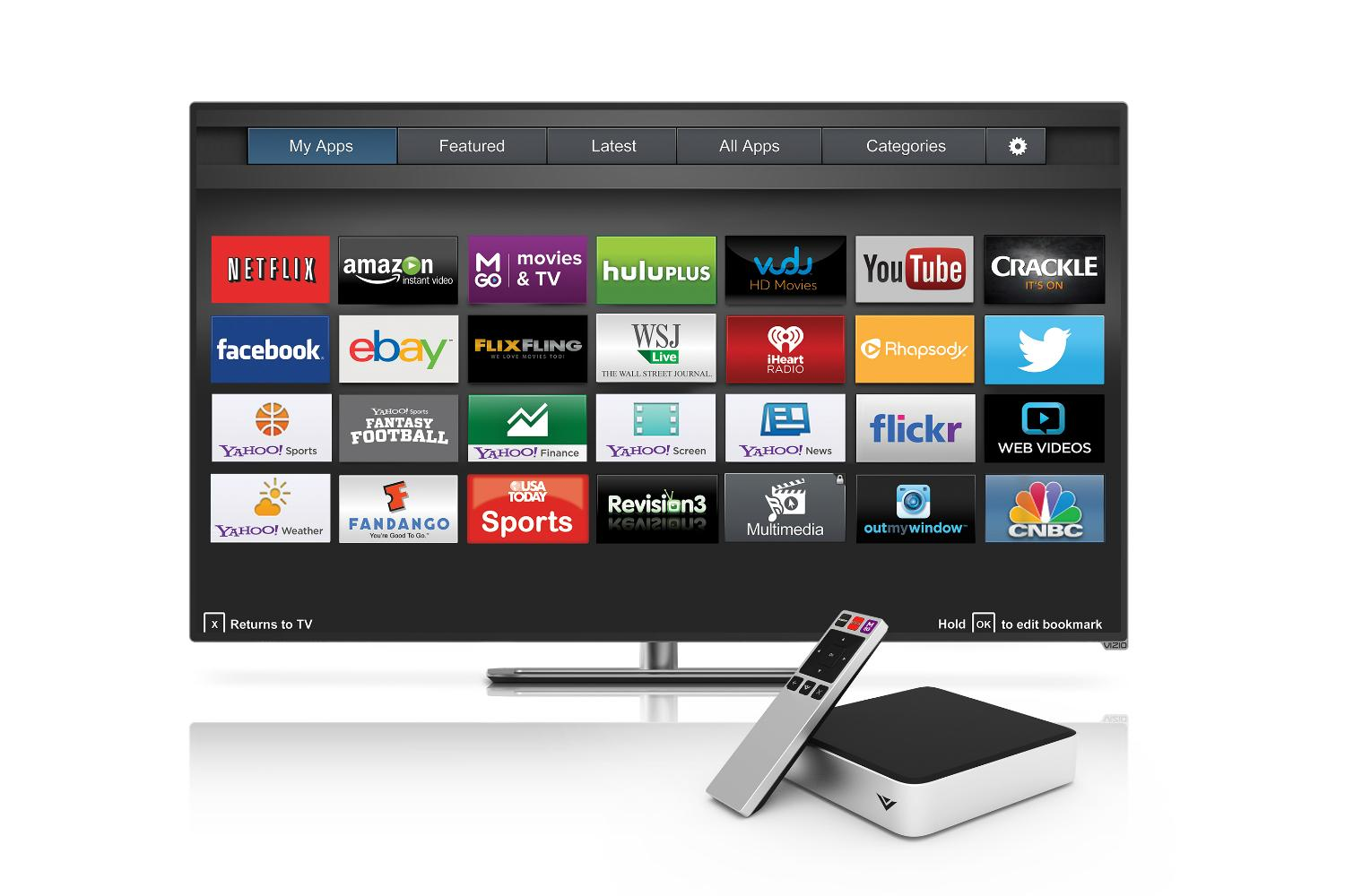 Vizio Ditches Google Tv With New Co Star Lt Streaming Set