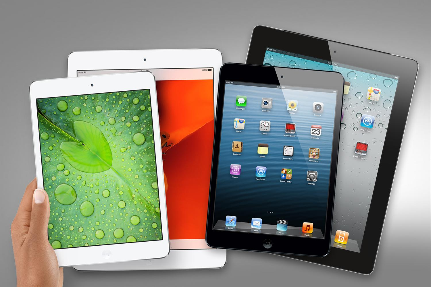which of apple s four ipad is for you digital trends. Black Bedroom Furniture Sets. Home Design Ideas