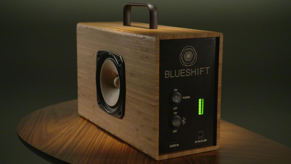 This Wireless Bamboo Speaker Charges In 5 Minutes And