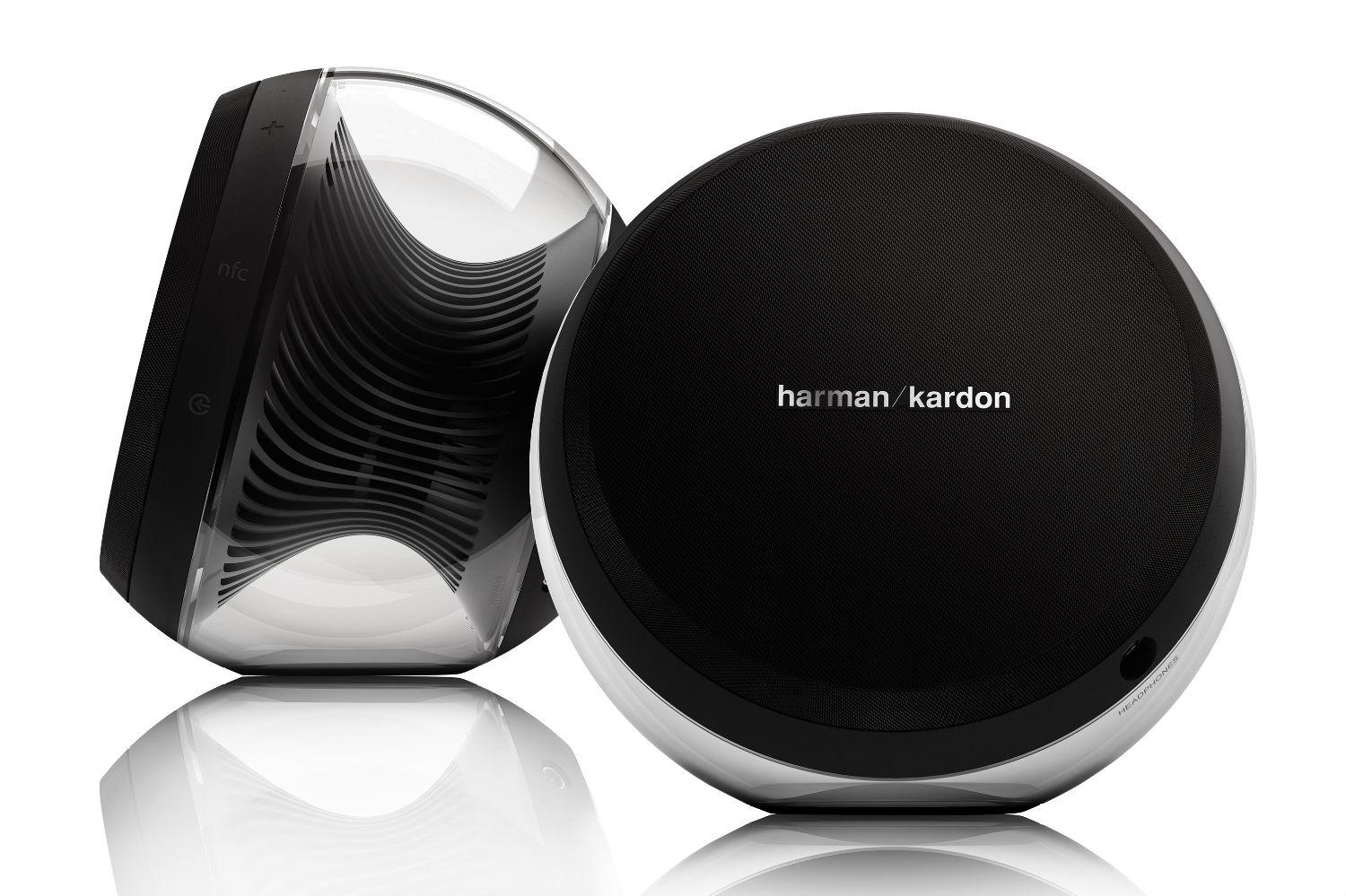harman kardon 39 s new nova speakers blend modern tech with. Black Bedroom Furniture Sets. Home Design Ideas