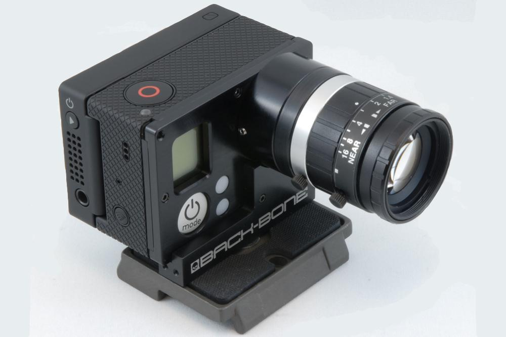 Turn a GoPro Hero into an interchangeable lens camera with ...