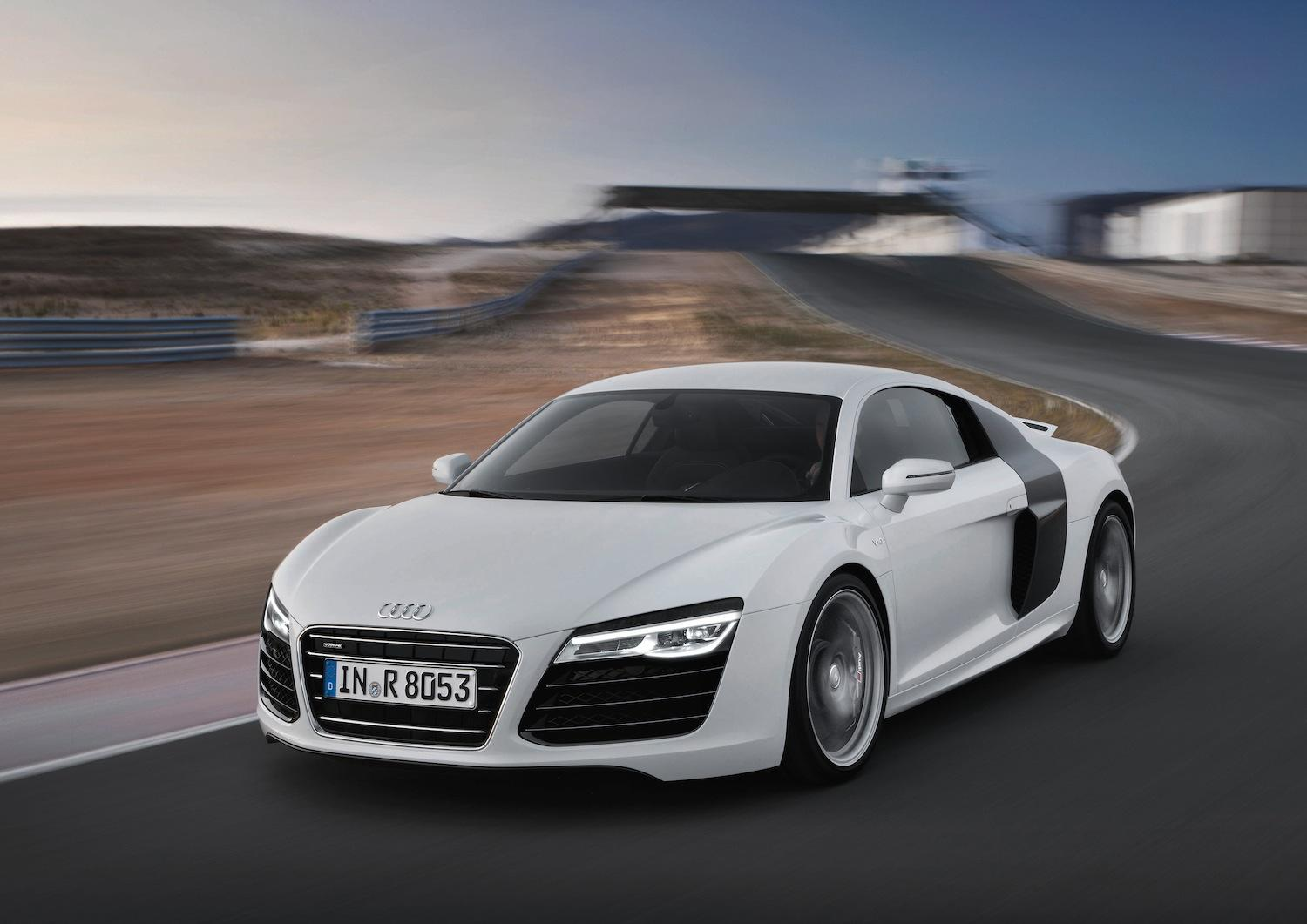 Cars Audi Roads R8 White V10 Wallpaper Allwallpaper In: All-new Audi R8 Sent Back To R&D After Disappointing Boss