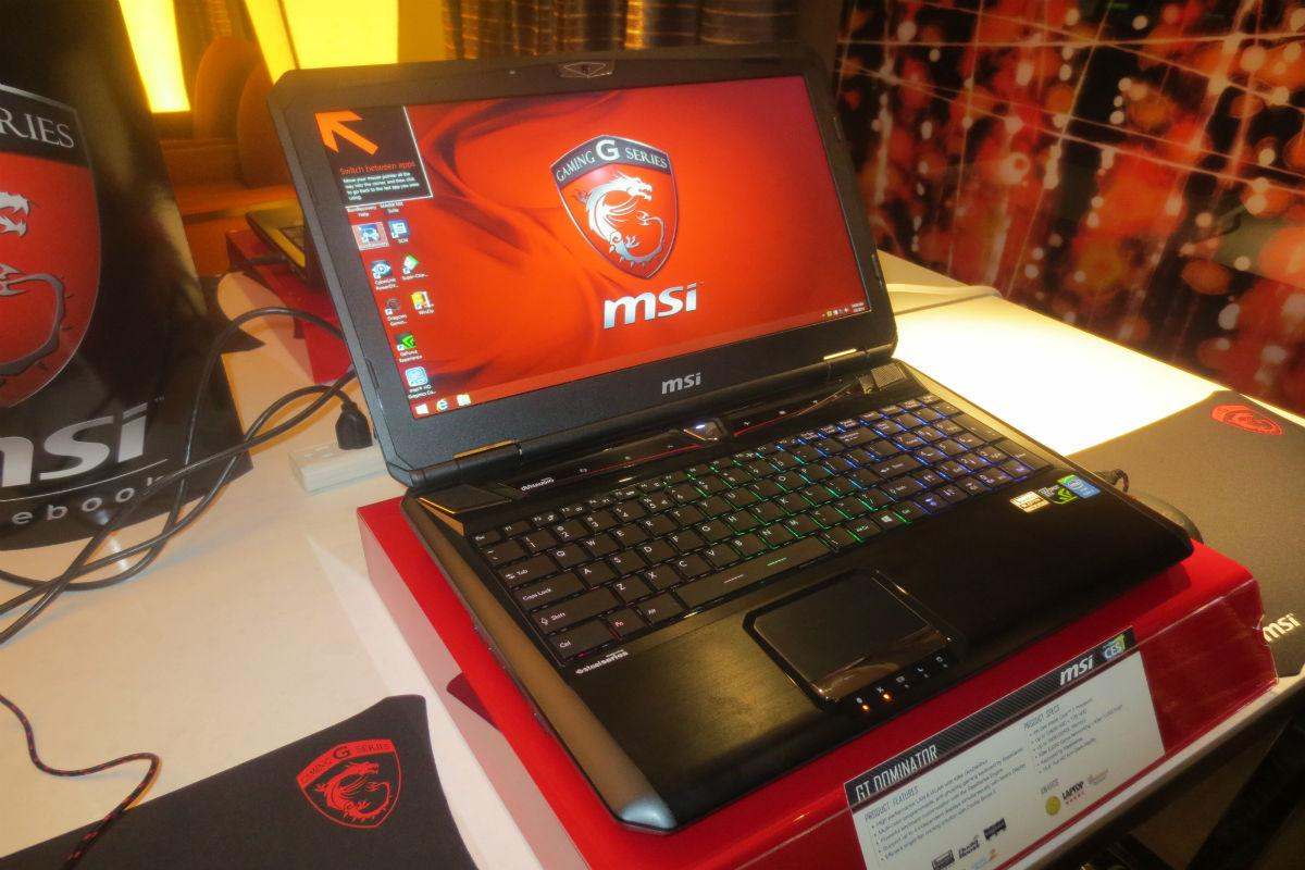 MSI Reveals Revamped Lineup of Gaming Laptops at CES 2014 | Digital Trends