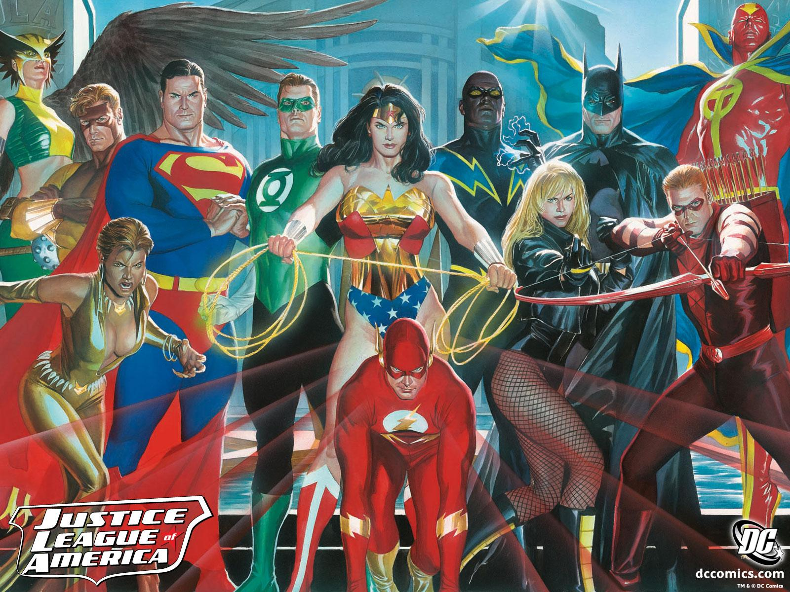 Opposite. final, alex ross justice league are