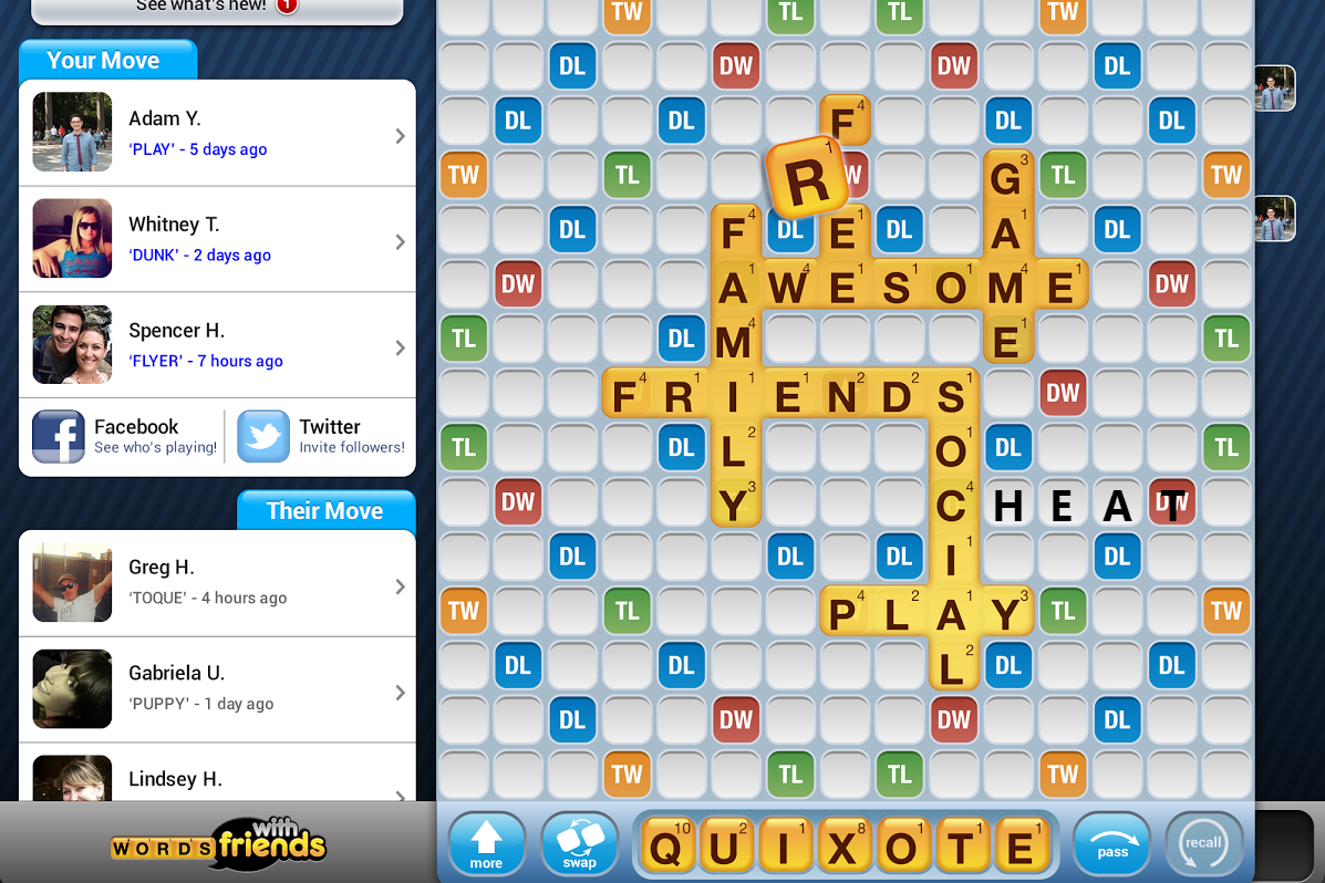 Can You Cheat On Words With Friends