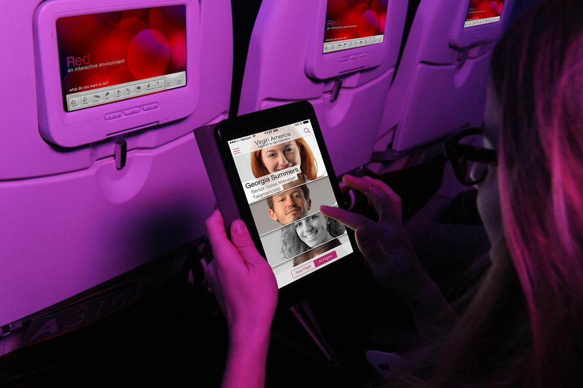 Virgin America Installed a New In-Flight System to Help You Get Laid