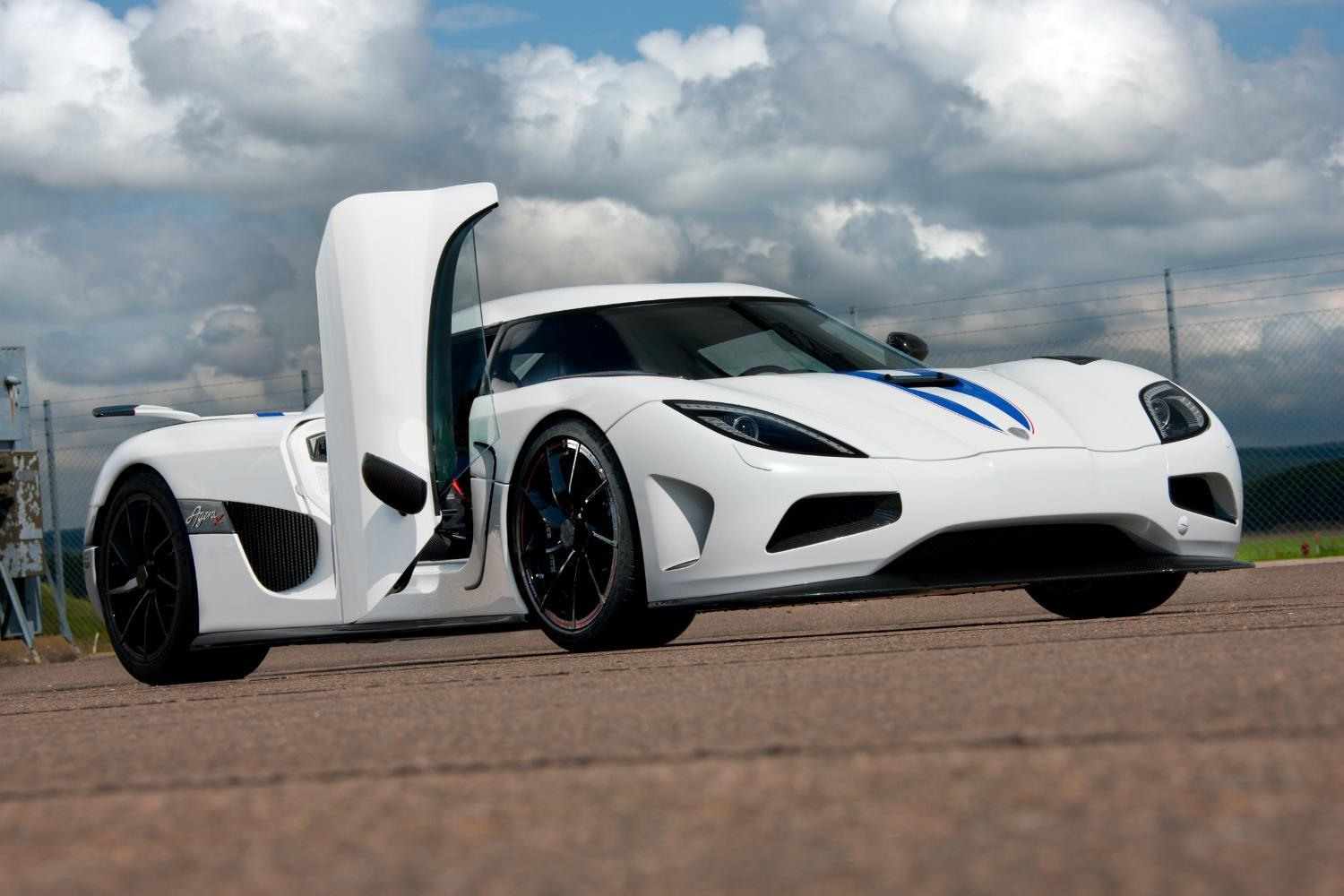 A Rare Koenigsegg Supercar Going Up In Flames Makes For