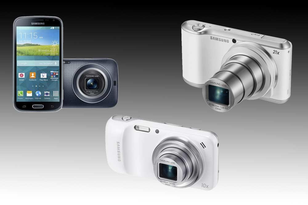 Galaxy K Zoom Vs Galaxy S4 Zoom Vs Galaxy Cam 2 Spec