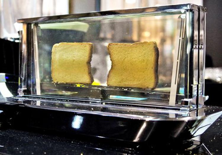 The Noun Glass Toaster From Bugatti Can Cook Meat Too