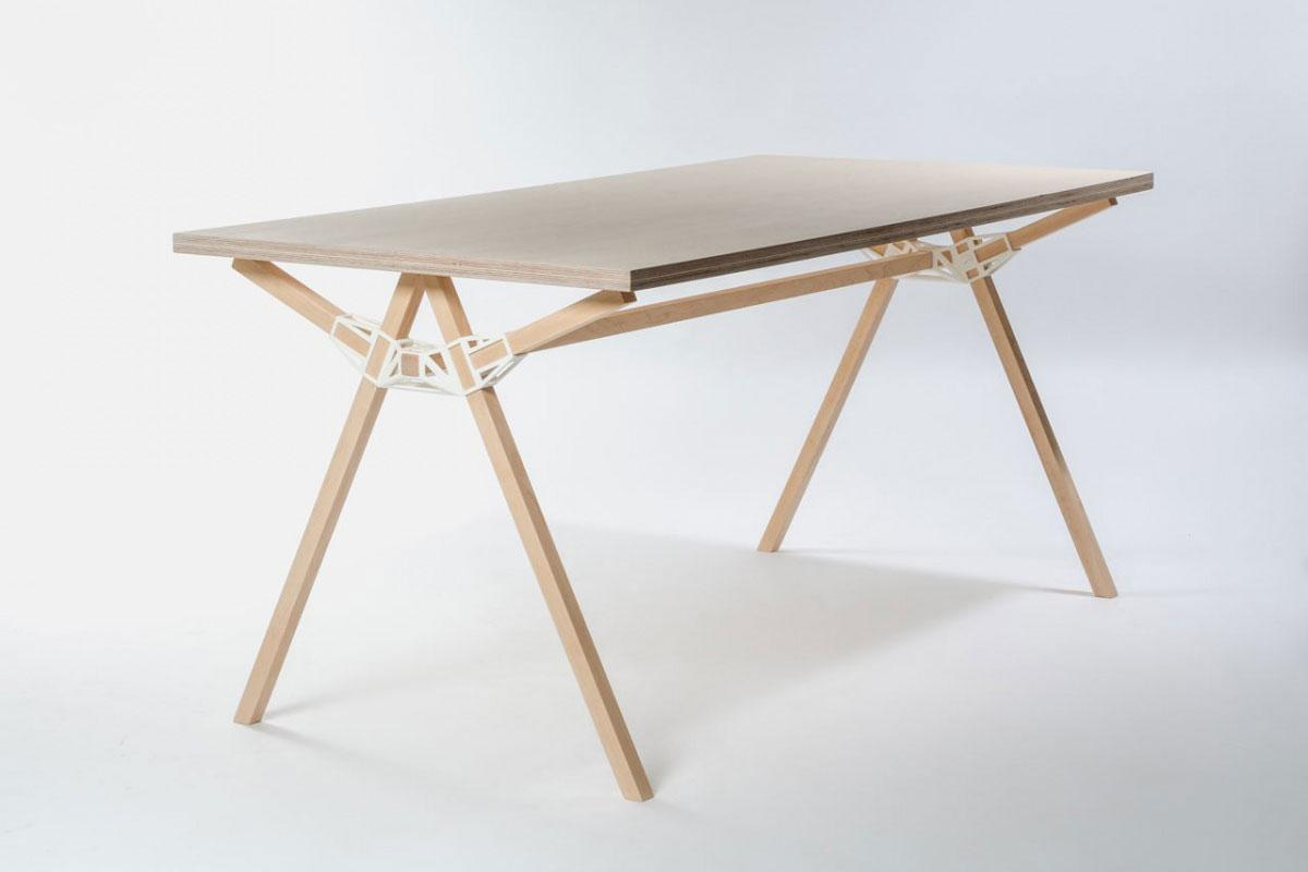 Keystone Connectors Make Furniture With A Single 3d
